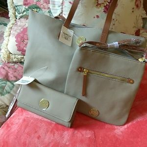 Joy Mangano Tote handbag Set